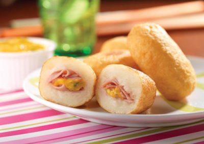 Buñuelos de Jamón Plumrose® y Yuca